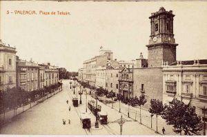Foto antigua Real Convento de Santo Domingo de Valencia, fachada, historia de Valencia, visitas guiadas temáticas y especializadas Valencia