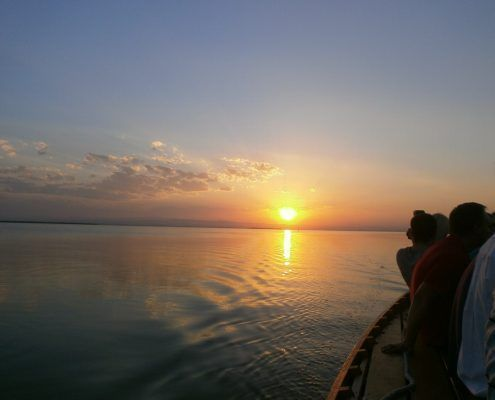 Enjoy with our guided tour in the lake of the Albufera of Valencia the most romantic plan with a boat trip around the lake surrounded by nature and enjoying the most beautiful sunsents you have ever seen
