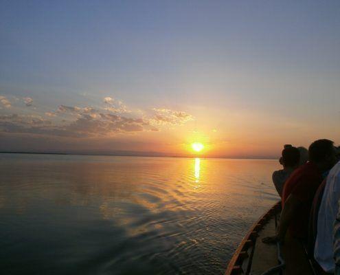 Disfruta con nuestra visita guiada al lago de la Albufera de Valencia del plan más romántico dando un agradable paseo en barca por el lago en plena naturaleza y disfrutando a la vez del atardecer más bonito que hayas visto