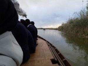 Visita guiada a una barraca y paseo en barca en el lago de la Albufera para grupo VIP evento
