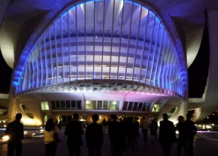 Catering and VIP visit at the Palau de les Arts Reina Sofia in Valencia for event and congress