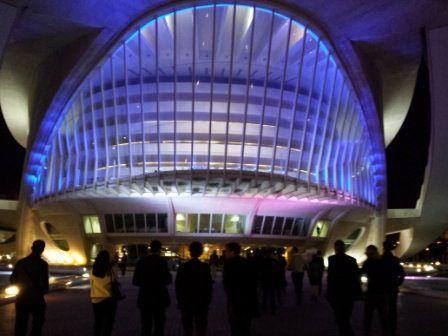 Catering y visita VIP en el Palau de les Arts Reina Sofia de Valencia para evento y congreso