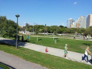 Visita guiada en Valencia, qué hacer con niños en Valencia, antiguo cauce del río Túria
