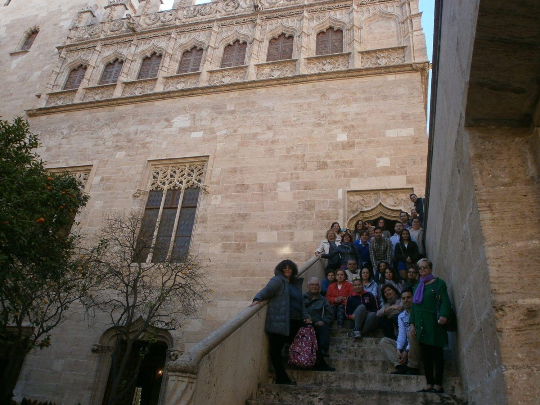 Lonja de la Seda de Valencia, visita guiada a la Lonja de la Seda, Taller de seda y ruta de la seda en valencia