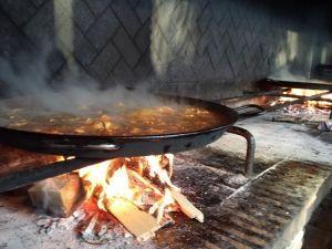 concurso de paellas evento empresa y visita guiada a la Albufera de Valencia cocinado de paella showcooking